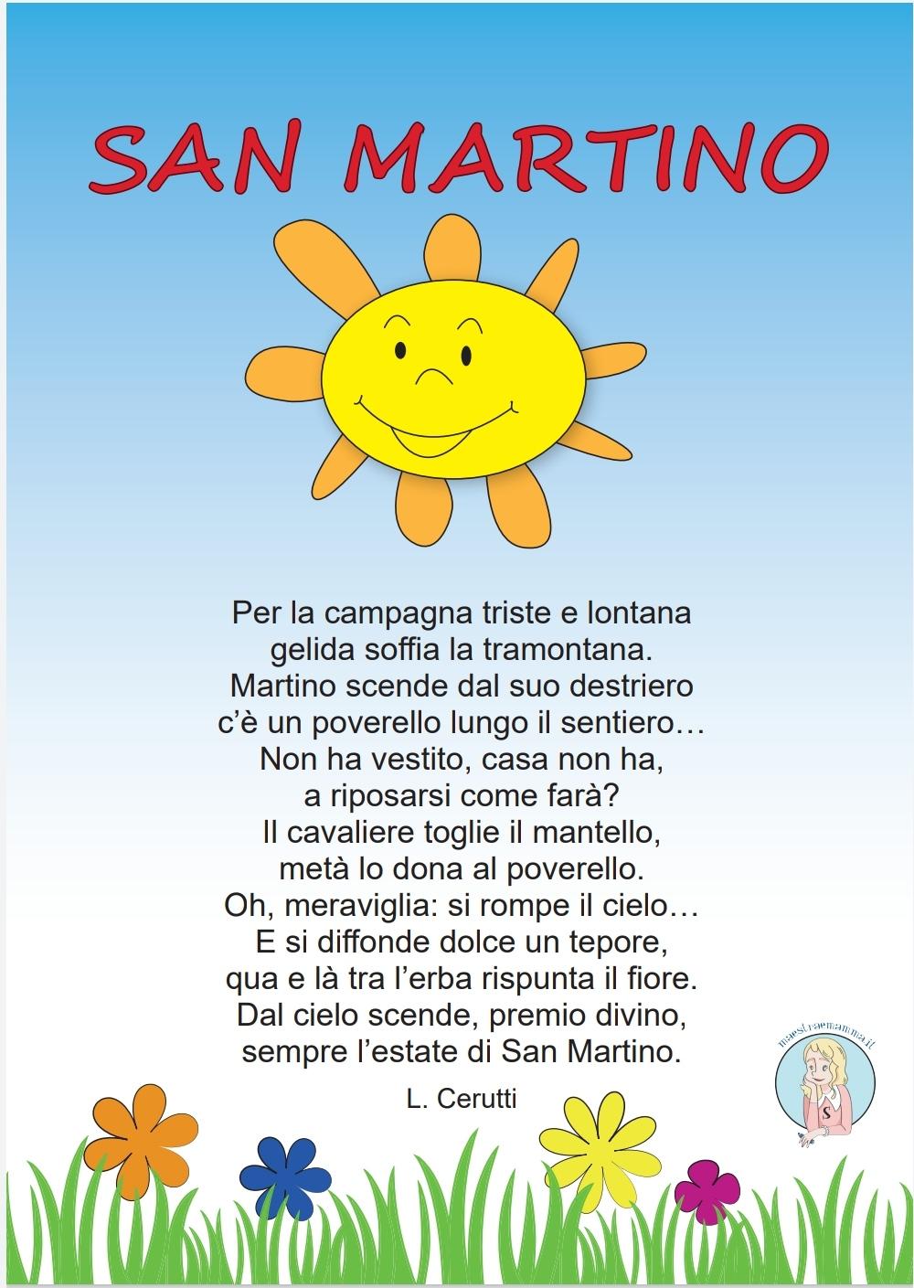 poesia -San Martino