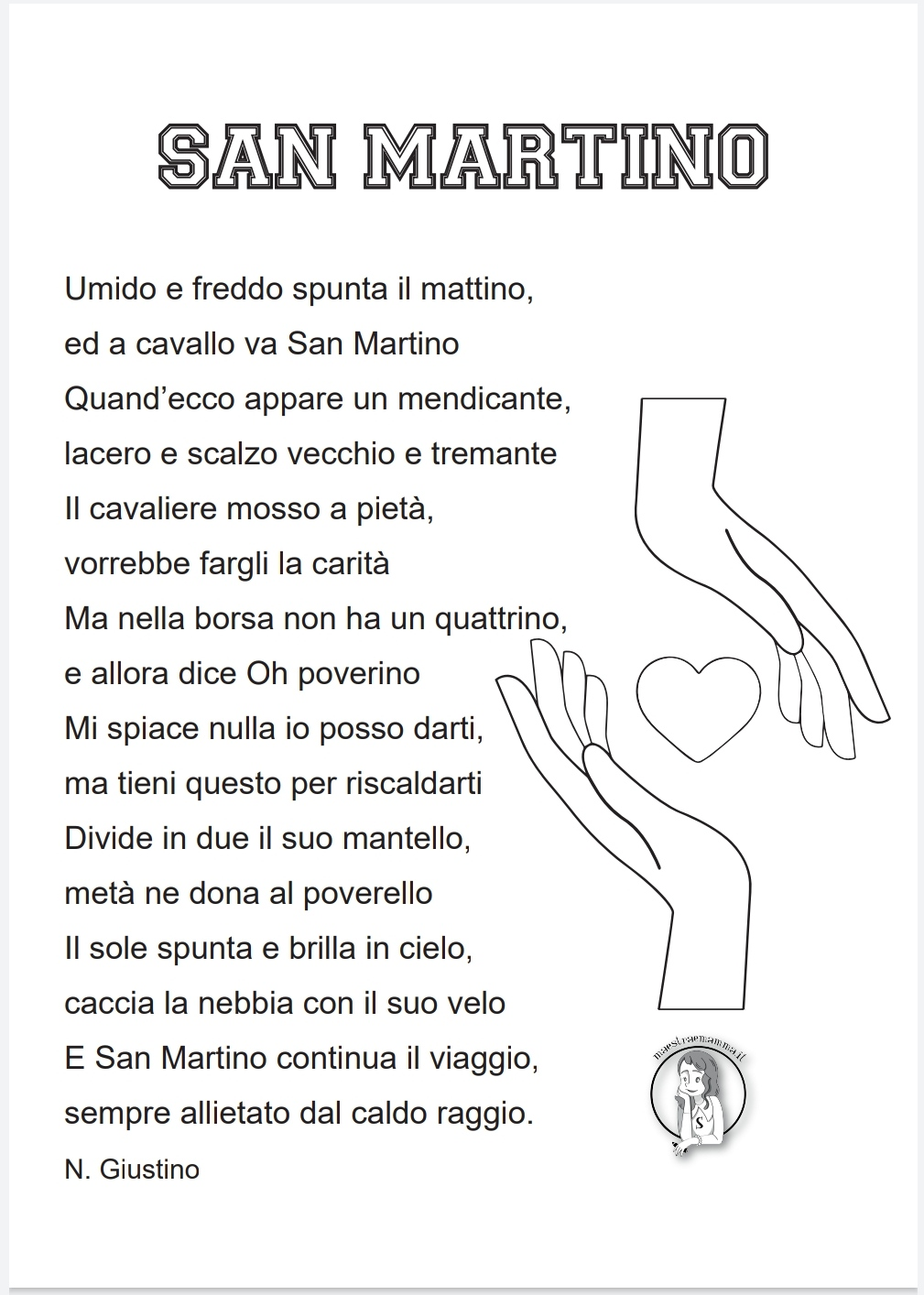 San Martino - poesia