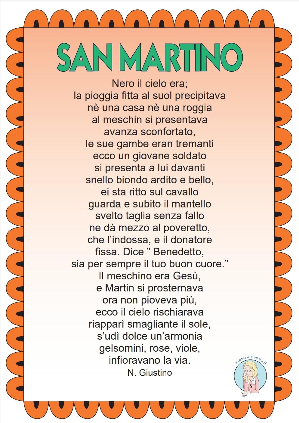 Poesia su San Martino