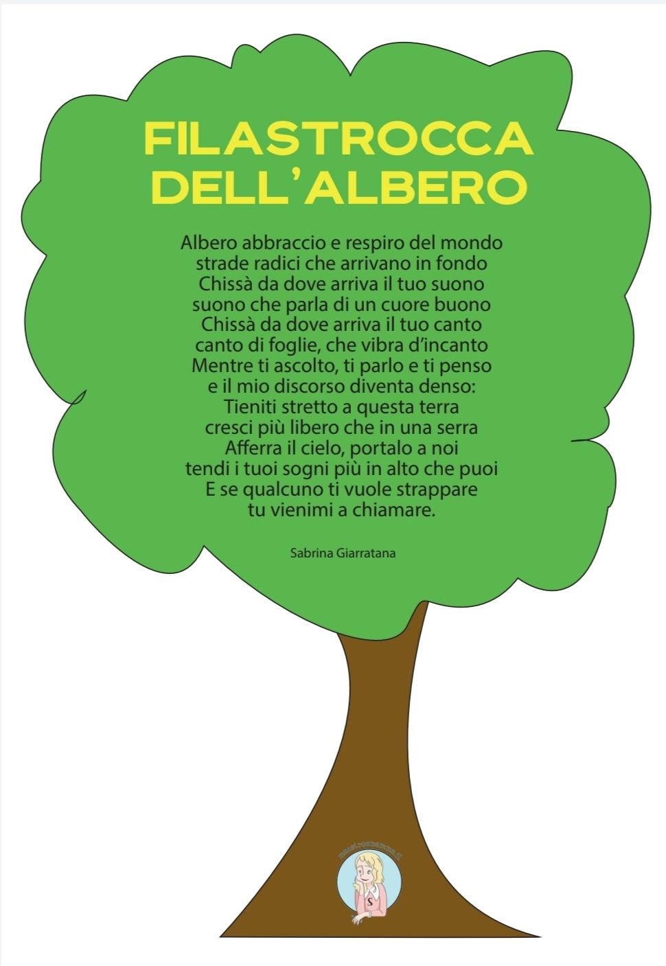 Filastrocca dell'albero di Sabrina Giarratana giornata festa dell-albero