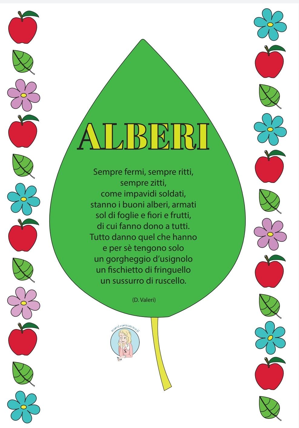 festa dell-albero giornata poesia alberi di D Valeri