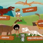 app per bambini educativa scuola storiaStoria digitale un app applicazione educativa per scoprire come erano i dinosauri