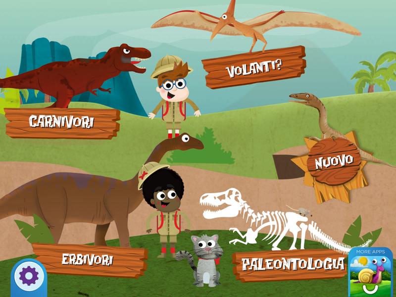 Storia e digitale: app per bambini per scoprire come erano i dinosauri