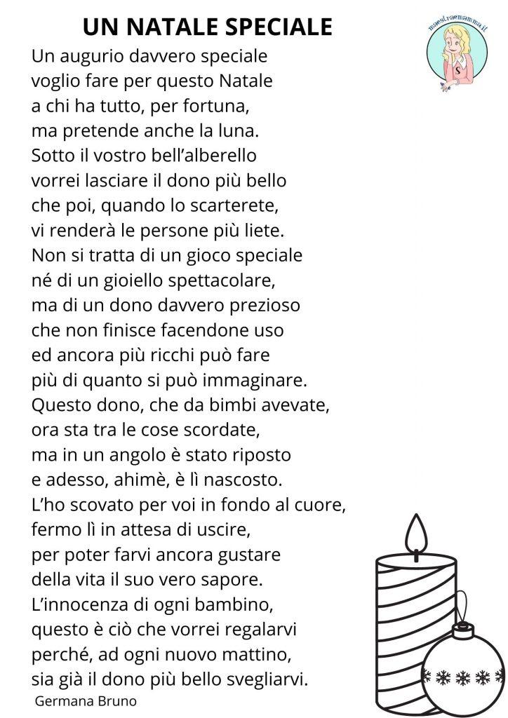Un Natale speciale - poesia di Germana Bruno