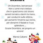 poesia inverno benvenuto dicembre marzia cabano