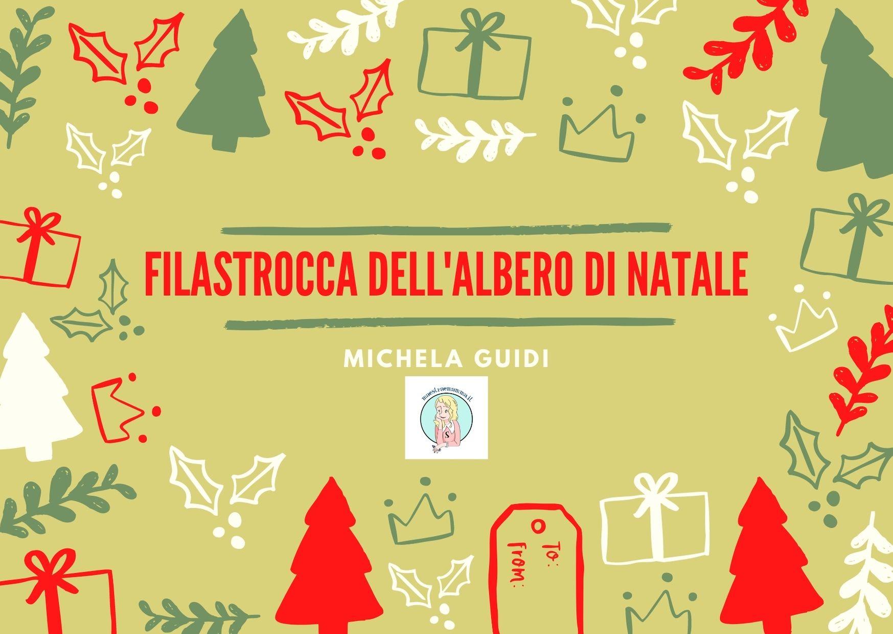 La filastrocca dell'albero di Natale di Michela Guidi