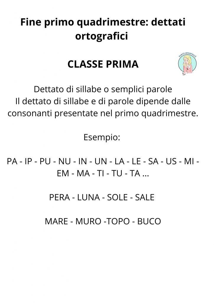 primo-quadrimestre-dettati-ortografici-divisi-per-classe