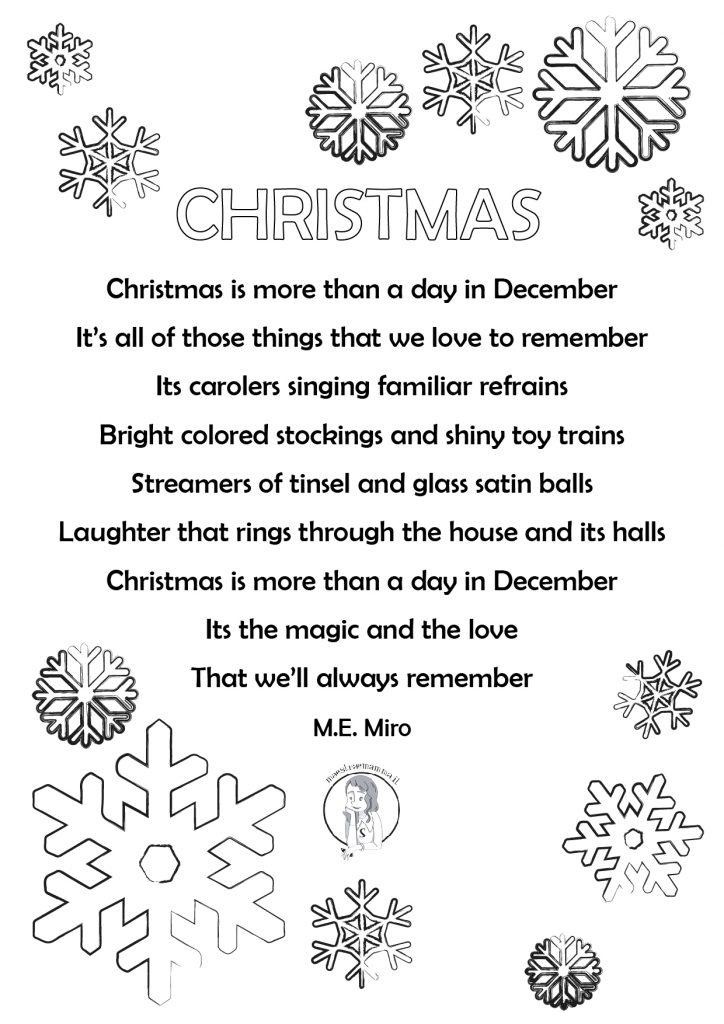 Christmas Poems For Children