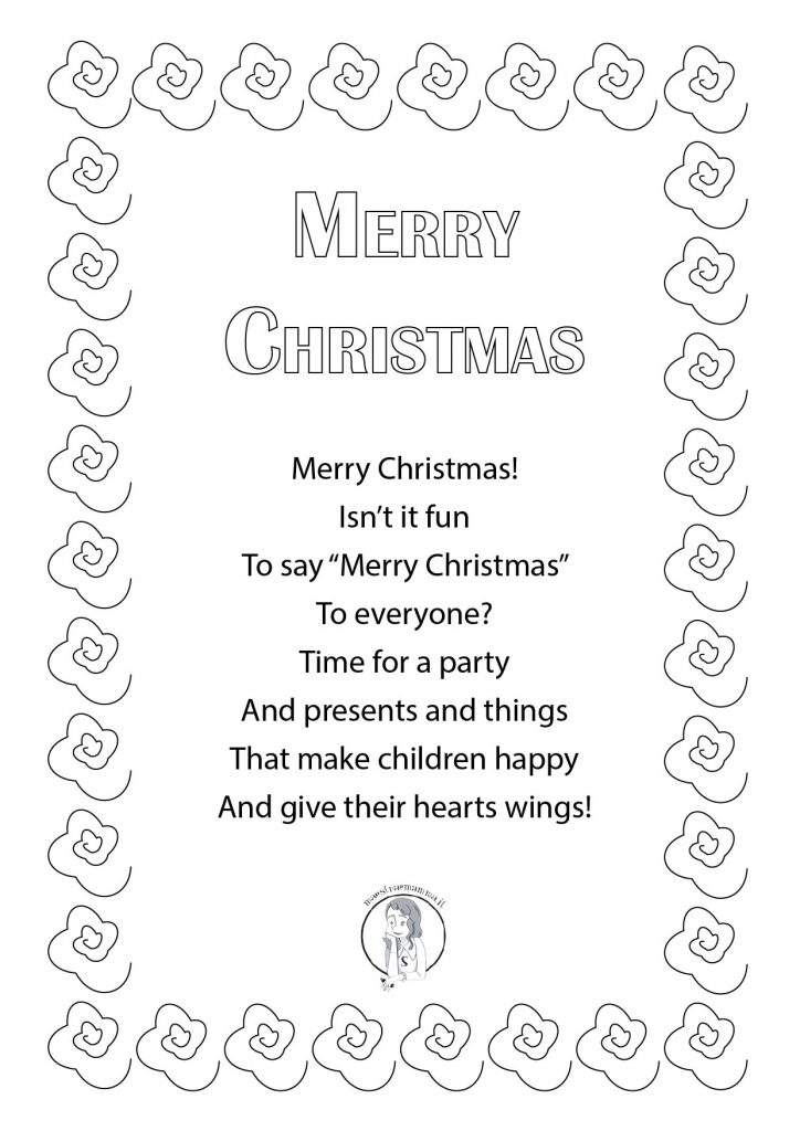 merry christmas Best Christmas Poems for Kids