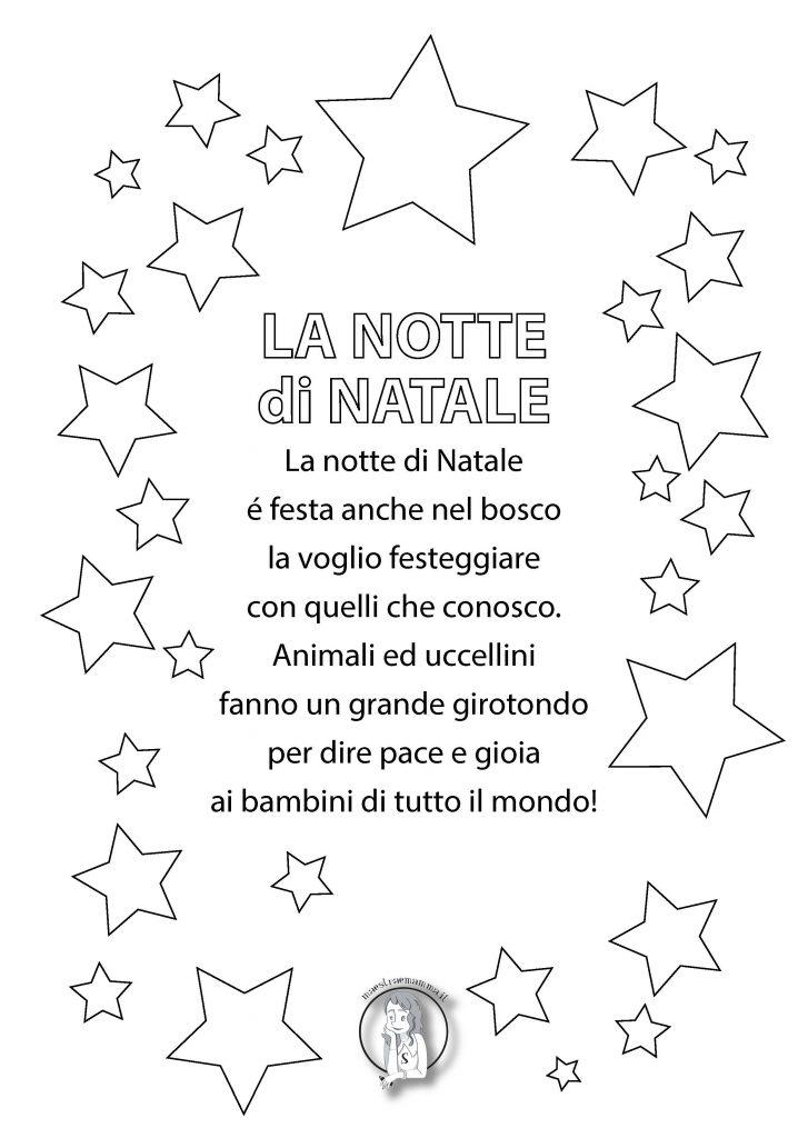 La notte di Natale poesia