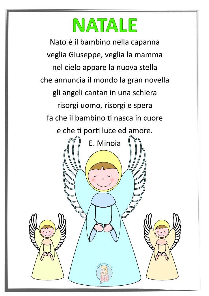 Natale - poesia tradizionale sulla nascita di Gesù bambino