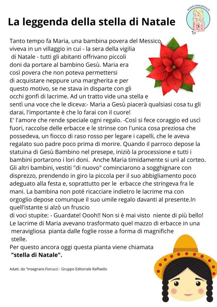 La leggenda messicana della stella di Natale