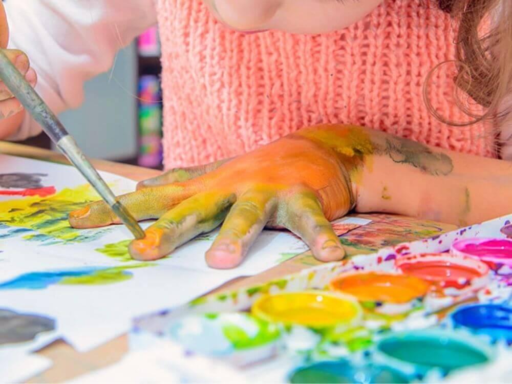 laboratori artistici come organizzare una festa in casa per bambini