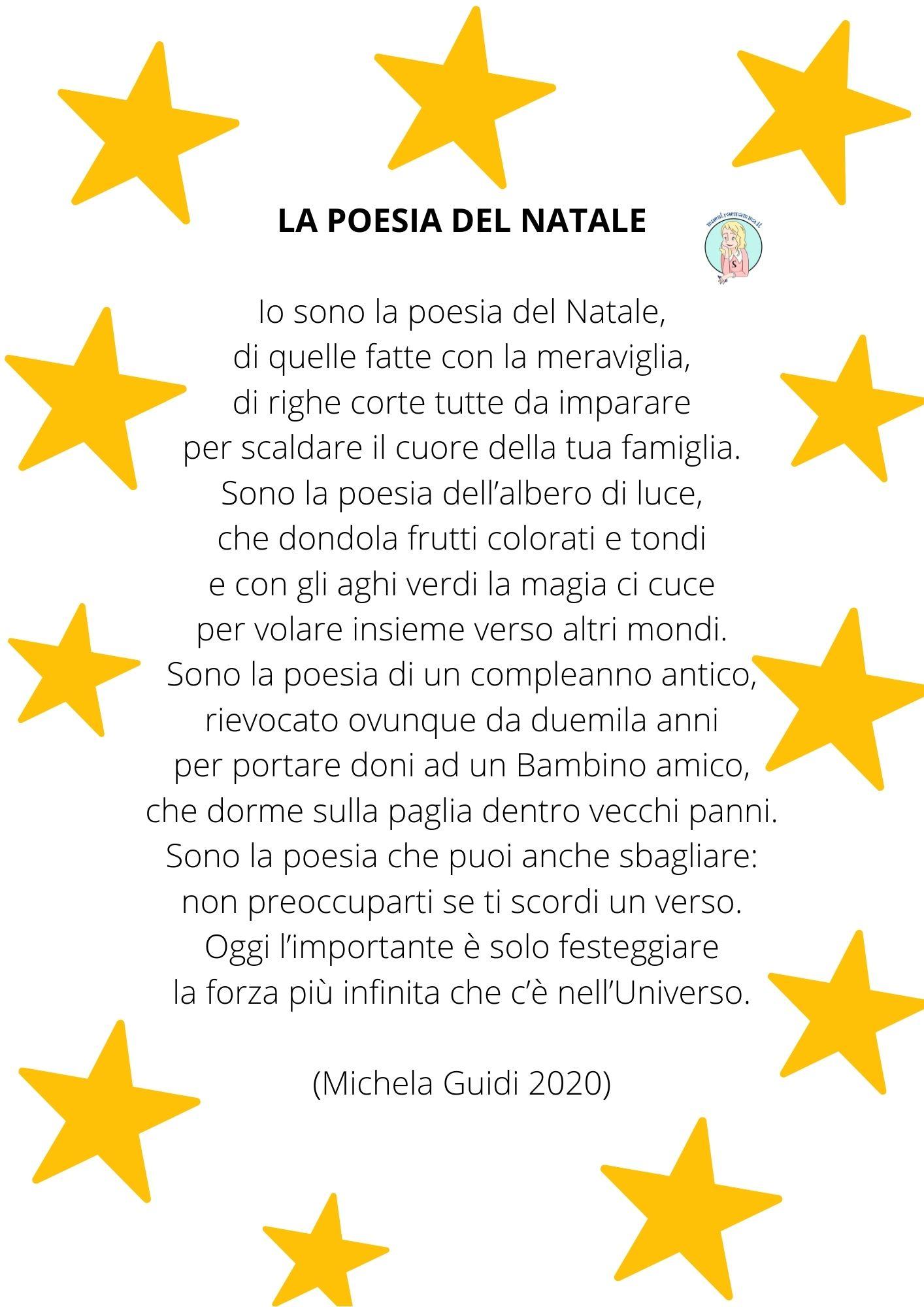 Poesia del Natale di Michela Guidi