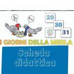 scuola primaria I tre giorni della merla: scheda didattica (la storia)
