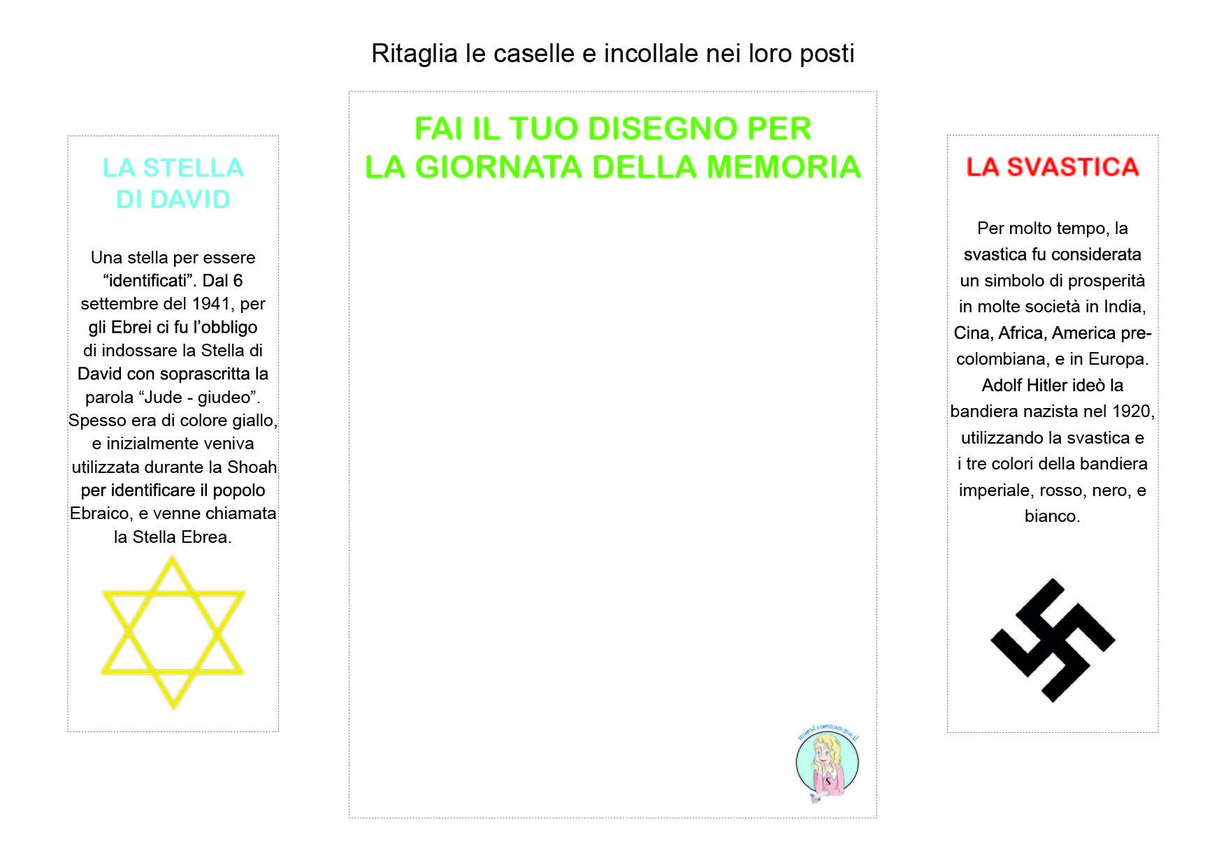 Lapbook IL GIORNO DELLA MEMORIA olocausto shoah scuola primaria