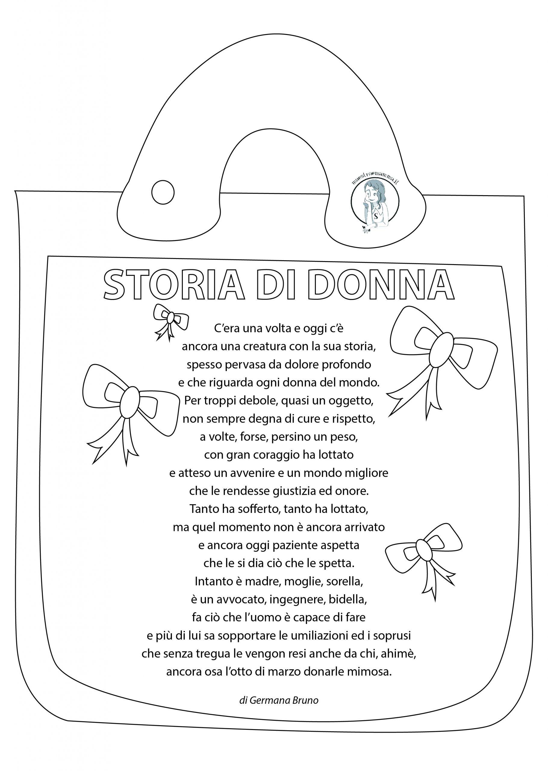 Festa della donna 8 marzo poesia di germana bruno