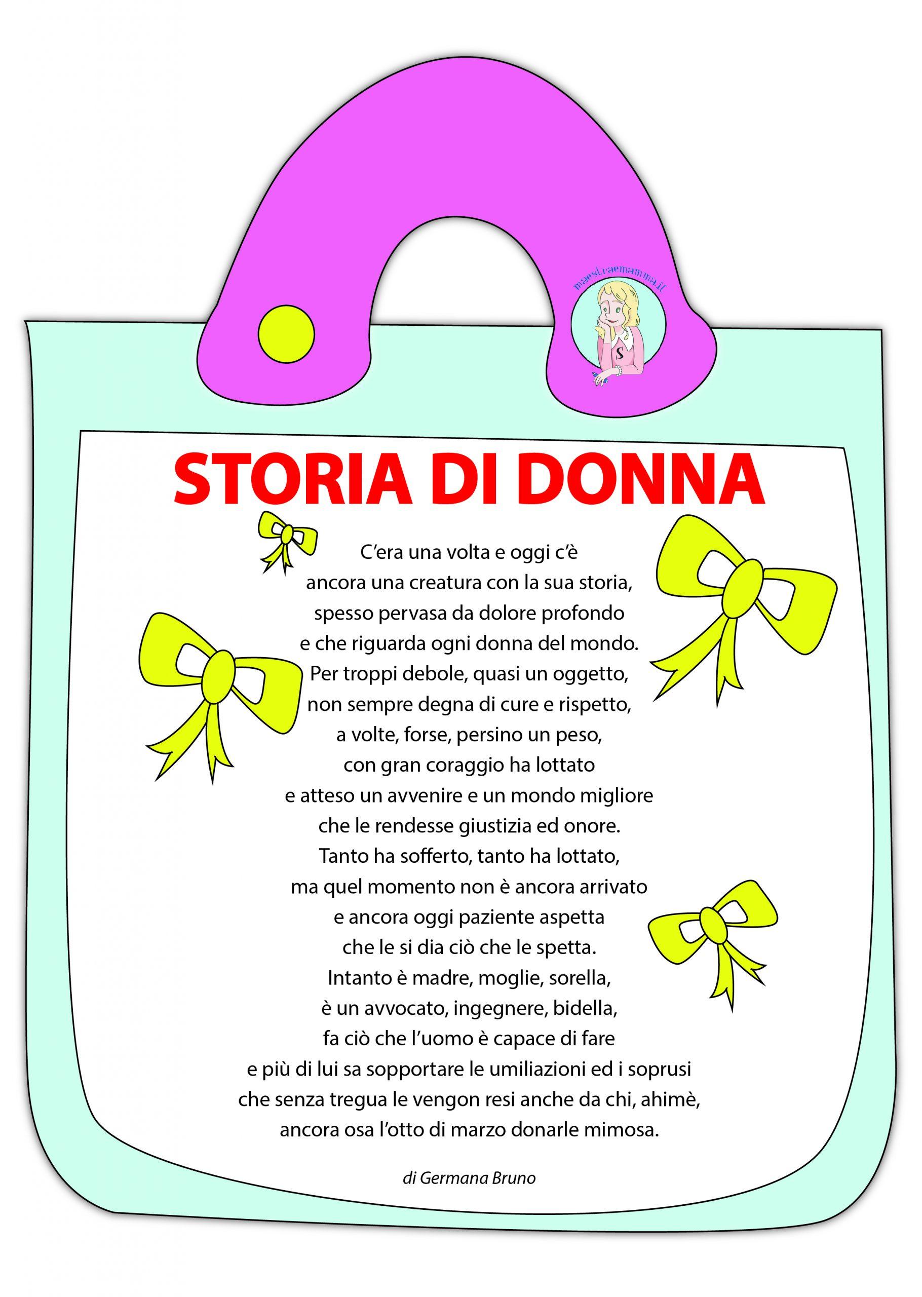 Poesia per la festa della donna di Germana Bruno