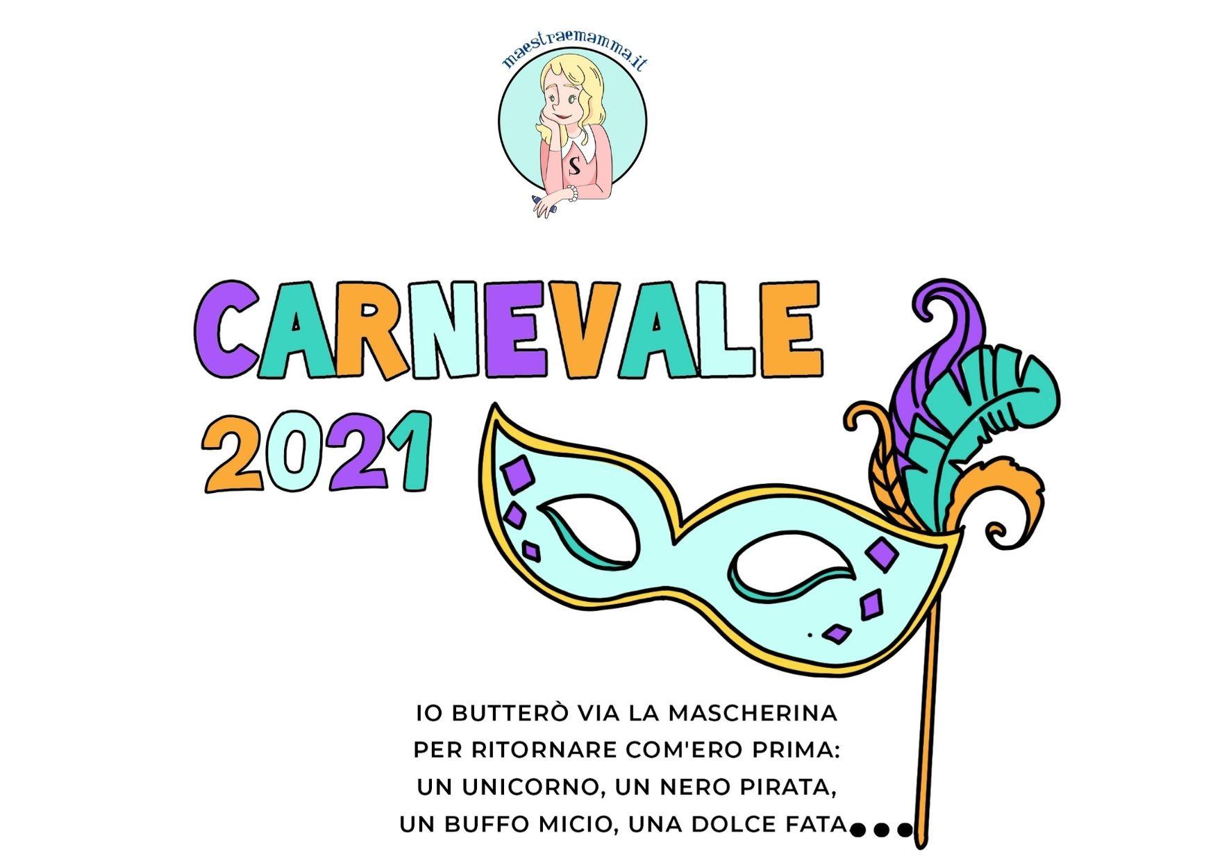 Poesia sul Carnevale 2021 di Michela Guidi