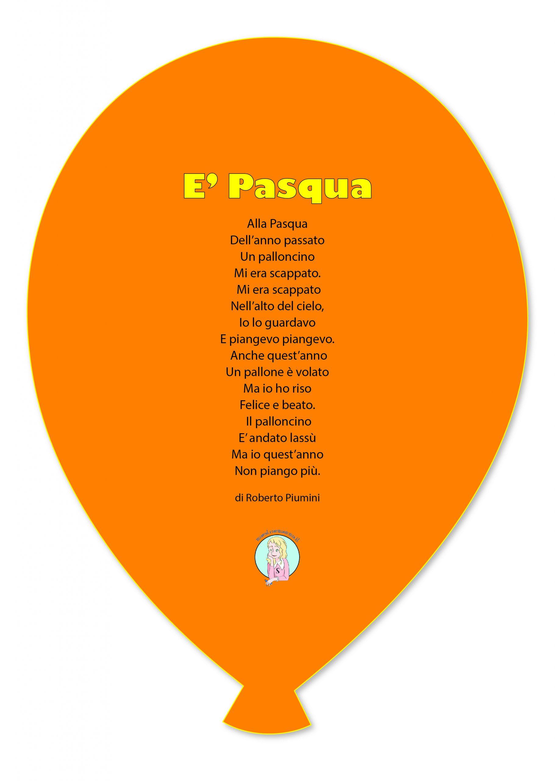"""""""E' Pasqua"""" - poesia di Roberto Piumini"""