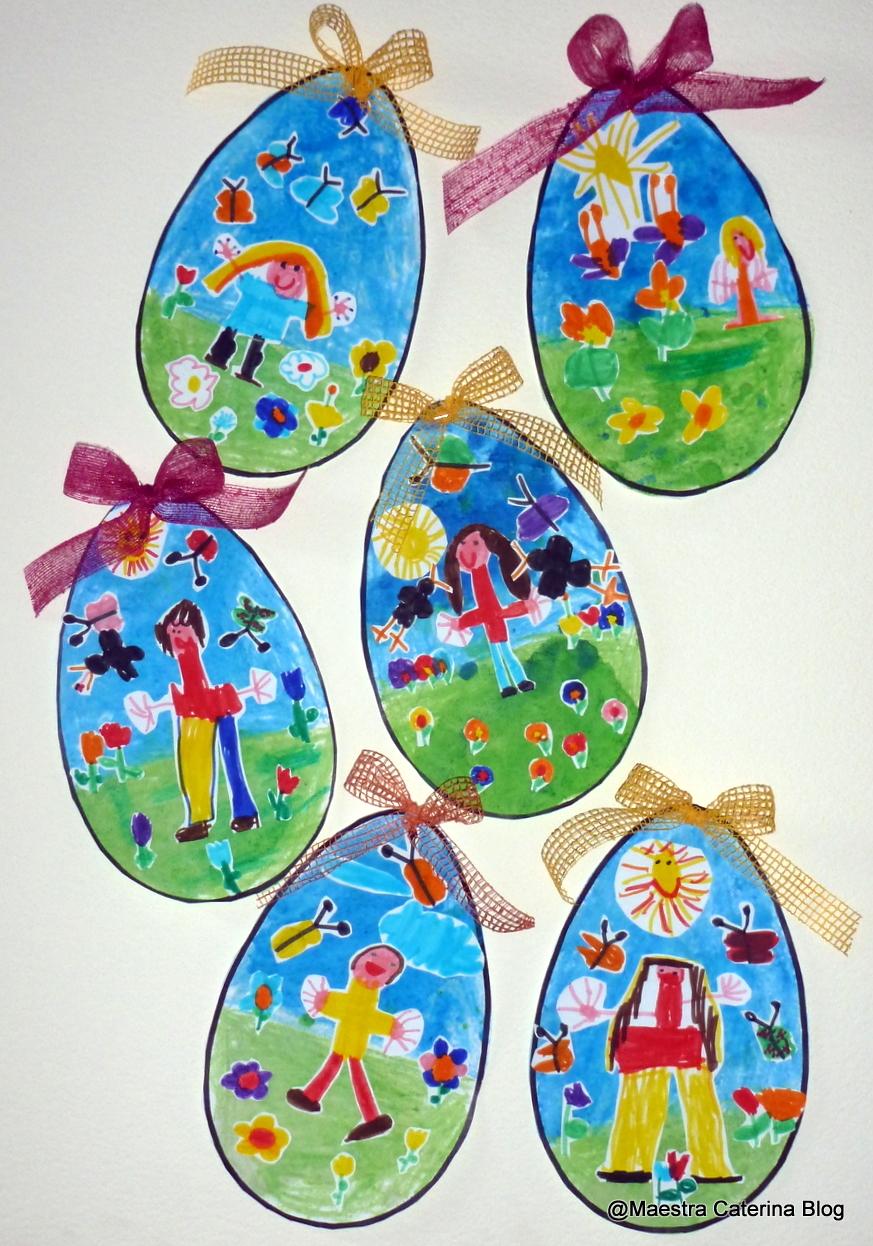 Lavoretti di Pasqua scuola infanzia