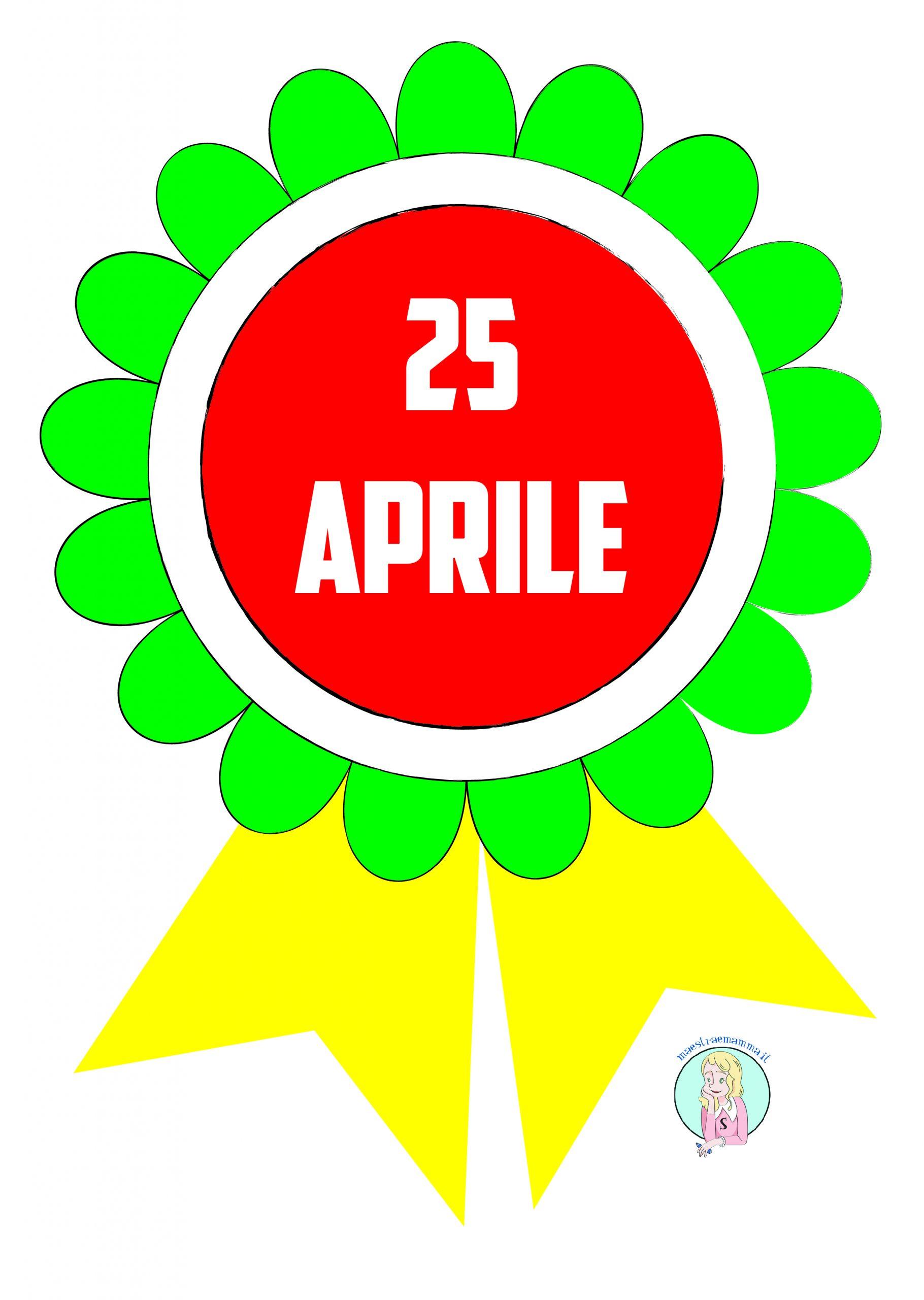 coccarda colorata 25 Aprile Festa della Liberazione: attività didattiche per la classe